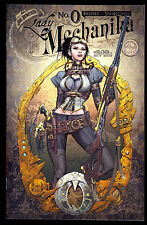 LADY MECHANIKA #0 A VARIANT COVER NM JOE BENITEZ ASPEN NM 1ST PRINT LOW PRINT