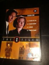 * DVD TV * THE X FILES SEASON 1- 4 * 4 EPISODES