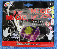 MAGIC TRCKS GLOW IN THE DARK LINKING RINGS MAGICALLY LINK THE RINGS EERIE GRAFIX