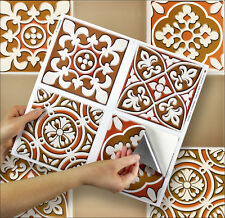 "4 Tile Transfer Stickers 6"" x 6"" AUSTINA for Kitchen & Bathroom tiles"