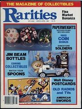 Toy Values Monthly #1 & Rarities Mag Mar 1982 Spoons Disney Postcards Action Fig
