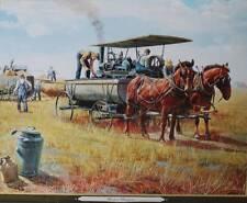 """""""Water Wagon"""" by Mort Kunstler Farm"""