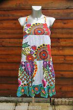 jolie robe frou frou multicolore en coton  DESIGUAL taille 11/12  excellent état