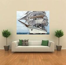 SHIP SAILING SEAS NAUTICAL NEW GIANT POSTER WALL ART PRINT PICTURE G178