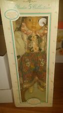 """Studio 5 Collection 16"""" Hand Painted Genuine Porcelain Doll NIB"""