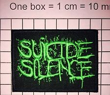 #807 new SUICIDE SILENCE EMBROIDERED PATCH IRON ON or SEW. Deathcore band