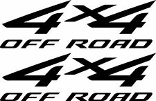 Matte Black 2002 - 2007 4x4 Decals for Ford F-250 HD F-350 Super Duty Truck