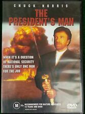 THE PRESIDENT'S MAN - CHUCK NORRIS - 2003 - REGION 4 PAL DVD MARTIAL ARTS KARATE