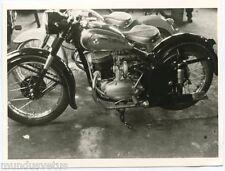 Petite photographie . Moto . Motorcycle . ( 10.5 x 7.5 Cm )