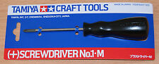 Tamiya 74007 Screwdriver Philips No.1 Medium, For Radio Control Car/Truck Kits