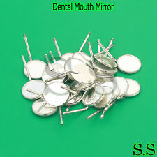 100 PCS Dental Mouth Mirror # 5 Plain Dental Instruments