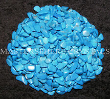 2000 x Blue Howlite Mini Tumblestones 3mm-5mm A Grade Crystal Gemstone Wholesale