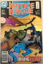 Comic Justice League America Issue No. 26 Bug Hunt! May 1989 DC 89 Batman JLA