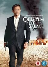 QUANTUM OF SOLACE DVD James Bond 07 Daniel Craig Brand New and Sealed UK