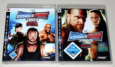 2 ps3 juegos bundle-SmackDown vs Raw 2008 & 2009-PlayStation Wrestling ECW
