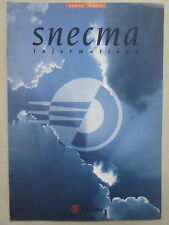1992 SNECMA INFORMATIONS SPECIAL IDENTITE LOGO GRAPHISME SIGNATURE LOGOTYPE