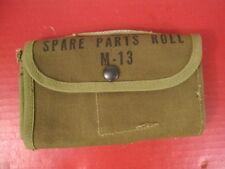 WWII US Army/USMC M13 Canvas Spare Parts Roll - Unissued - Browning 1917 1919 #2
