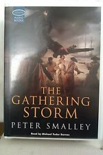The Gathering Storm by Peter Smalley: Unabridged Cassette Audiobook (QQ4)
