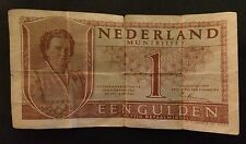 NEDERLAND MUNTBILJET GULDEN BANK NOTE SERIAL # 2MY030765