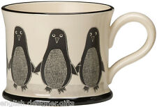 NEW Moorland Pottery Penguin Mug - Gift Boxed