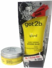 DUO Schwarzkopf Got2b Glued Spiking GLUE 150ml + WAX 75ml