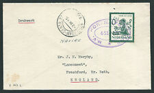 HOLLAND: (11812) Africa line paquebot cancel/cover