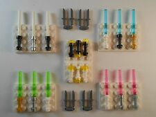 Lego Lightsabers Knifes Flashlights. GLOW IN THE DARK. Brand New!! Star Wars