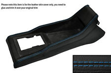 BLUE STITCHING CENTRE CONSOLE SKIN COVER FITS VW POLO MK2 2 II 86C 81-94