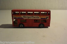 Ancienne voiture Matchbox The londoner 1972 made in england lesney product