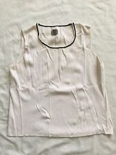 Chico's Women Top Blouse Shirt Size  3 Sleeveless White Color SS6