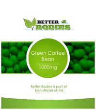 120 GREEN COFFEE BEAN EXTRACT 1000MG DIET WEIGHT LOSS SLIMMING CAPSULES 50% CGA