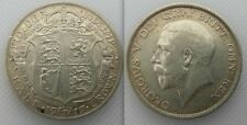 Collectable 1917 Silver Half-Crown Coin Of King George V