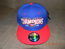 Chicago Cubs  2016 World Series/ NL Champions Patch Hat Cap Adjustable