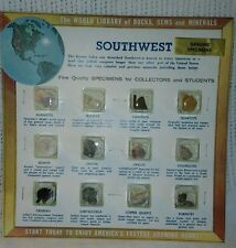 The World Library of rocks, gems and minerals Southwest