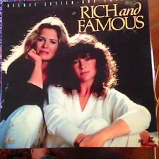 Rich And Famous - Letterboxed Laserdisc Buy 6 for free shipping