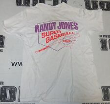 Vintage Original 1980's Randy Jones Super Baseball Camp M Medium Padres Cy Young