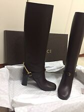 Authentic New stivali GUCCI Stivaletto Boots Tg. 39  Leather Scarpe