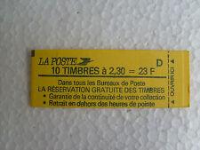 Carnet de 10 timbres français  n° 2614-C2