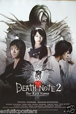 """""""DEATH NOTE 2-THE LAST NAME"""" MOVIE POSTER FROM ASIA V.1-Supernatural Japan Movie"""