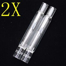 2X Glass Tube Water Bubbler Spray Faucet For Arizer Solo/Air Portable Vape