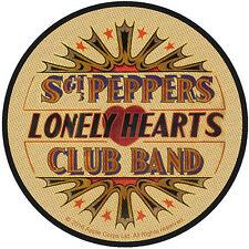 THE BEATLES - SGT PEPPER'S LONELY HEARTS ( BRAND NEW 9cm SEW-ON PATCH )