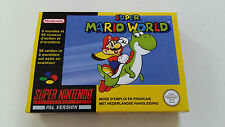 Super Mario World Super Nintendo SNES - Cleaned and tested read more below