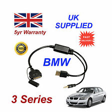 BMW 3 Series (611204407) For Apple 3GS 4 4S iPhone iPod USB & 3.5mm Aux Cable