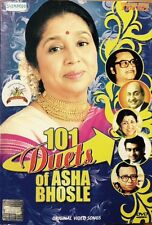 101 Duets Of Asha Bhosle - 101 Bollywood Songs DVD, 101 Songs In 3 DVD Set
