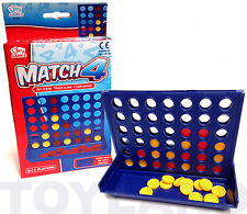 FOUR IN A ROW CONNECT 4 MINI POCKET TRAVEL GAME TOY CHRISTMAS STOCKING FILLER
