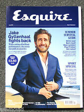 Rare British ESQUIRE Magazine - July 2015 - Jake Gyllenhaal - Style Culture