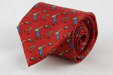POLO RALPH LAUREN Silk Tie Fantastic Speed Skaters Skating Doc 37. Made in Italy