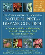 The Organic Gardener's Handbook of Natural Pest and Disease Control by D Martin