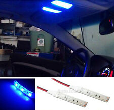 2pcs 3SMD Blue Eyes Strip LED Lights For Car Headlights Dome Interior light T10