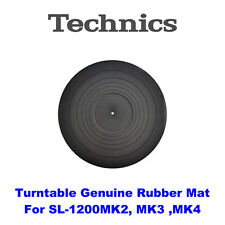 New Technics Turntable Genuine Rubber Mat RGS0010A for SL-1200MK2, MK3, MK4